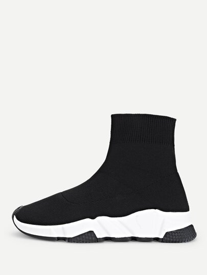 Chunky Sole Sock Sneakers