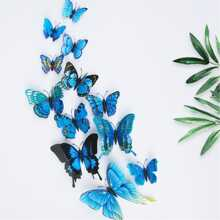 INOpets.com Anything for Pets Parents & Their Pets 3D Butterfly Wall Decors 12pcs
