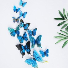 3D Butterfly Wall Decors 12pcs