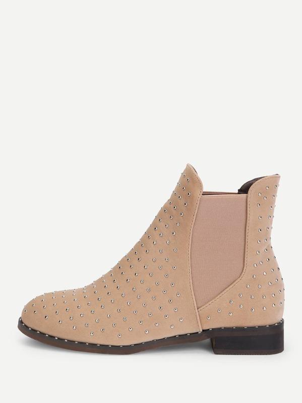3d5a712145 Cheap Rivet Detail Chelsea Boots for sale Australia | SHEIN