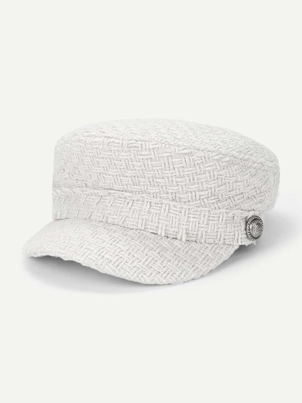 Regno Unito qualità e quantità assicurate prezzi al dettaglio Cappello da panettiere con design a bottoni