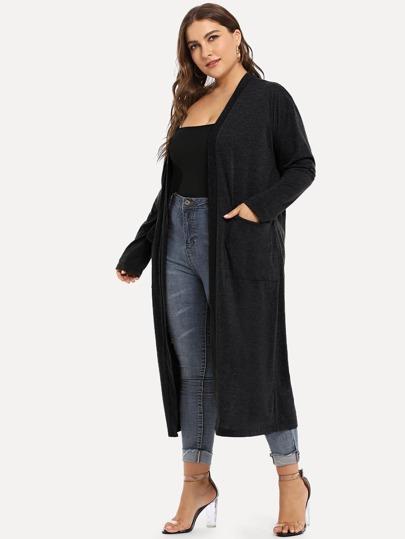 03ba9e91a Women's Plus Size Coats & Jackets | SHEIN
