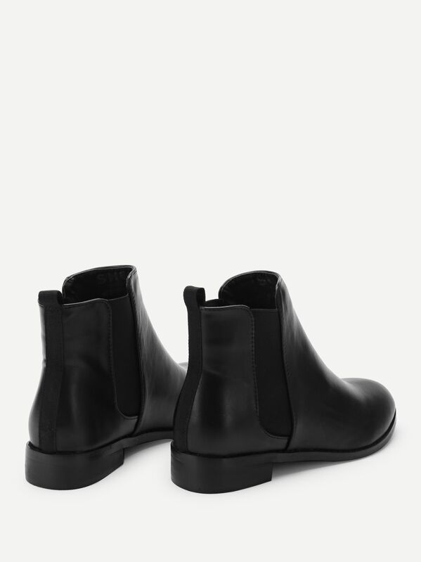 fb898adf5a PU Chelsea Ankle Boots | SHEIN