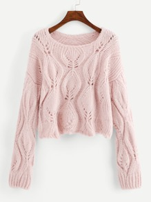 Loose Knit Solid Sweater