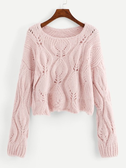 20a2e2e8905 Loose Knit Solid Sweater