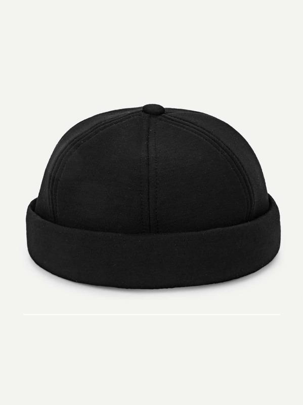 14fa4676bf3ea Plain Beanie Hat