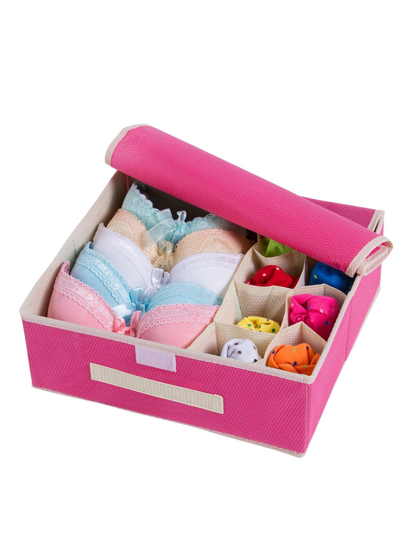 Organizador de ropa interior con 9 compartimientos spanish shein sheinside - Organizador de ropa interior ...