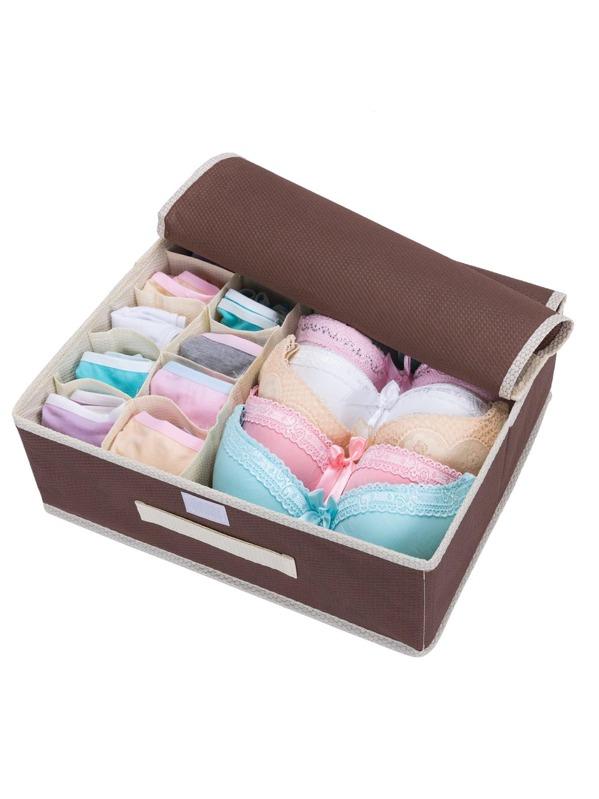 11 Compartment Underwear Storage Box | SHEIN