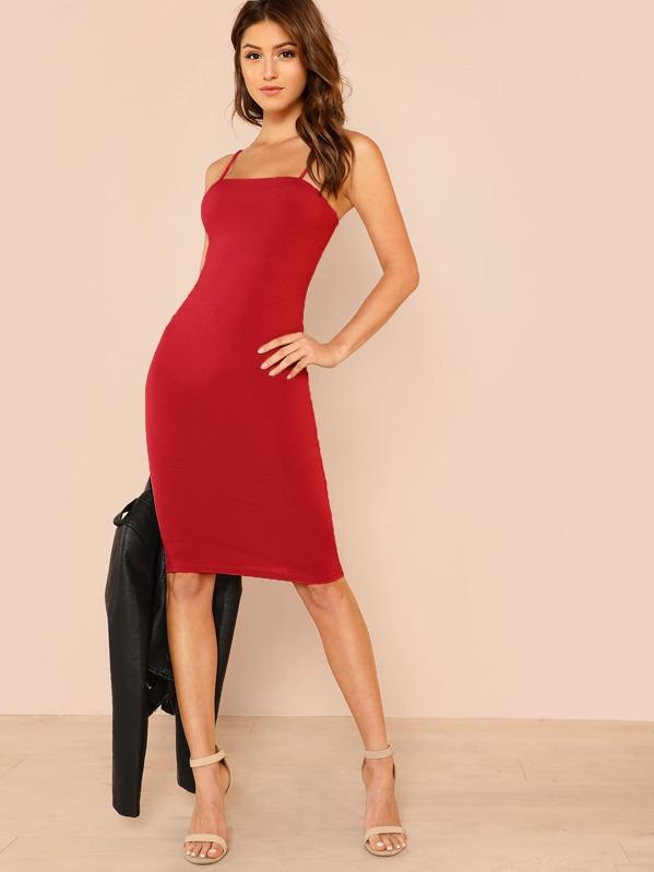 0e1e36bde4f0 Cheap Solid Cami Bodycon Dress for sale Australia