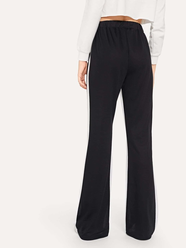25ae7d0861 Elastic Waist Wide Leg Pants | SHEIN IN