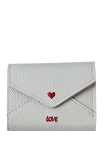 Flap Purse With Love Print