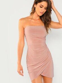 80536c3f Peekaboo Cutout Glitter Bodycon Dress | ROMWE