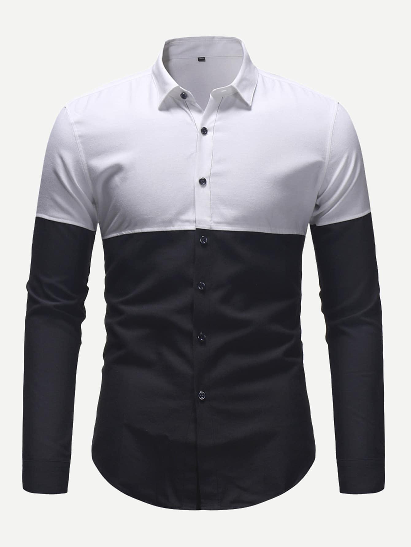 Men Cut And Sew Shirt Men Cut And Sew Shirt