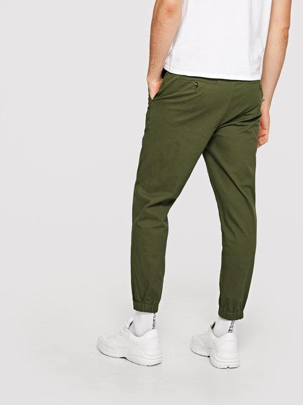10b6c529dd Men Button Fly Peg Leg Pants | SHEIN IN