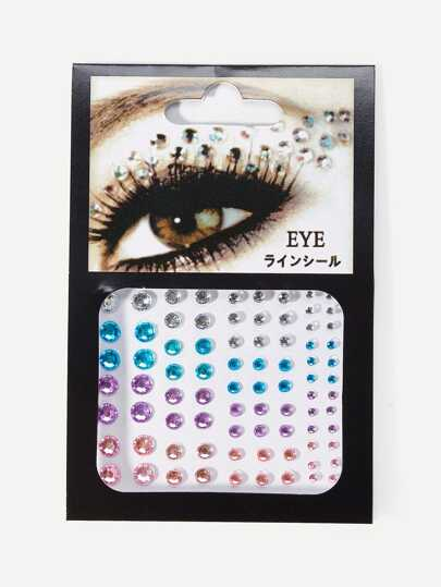 Rhinestone Eye Tattoo Sticker