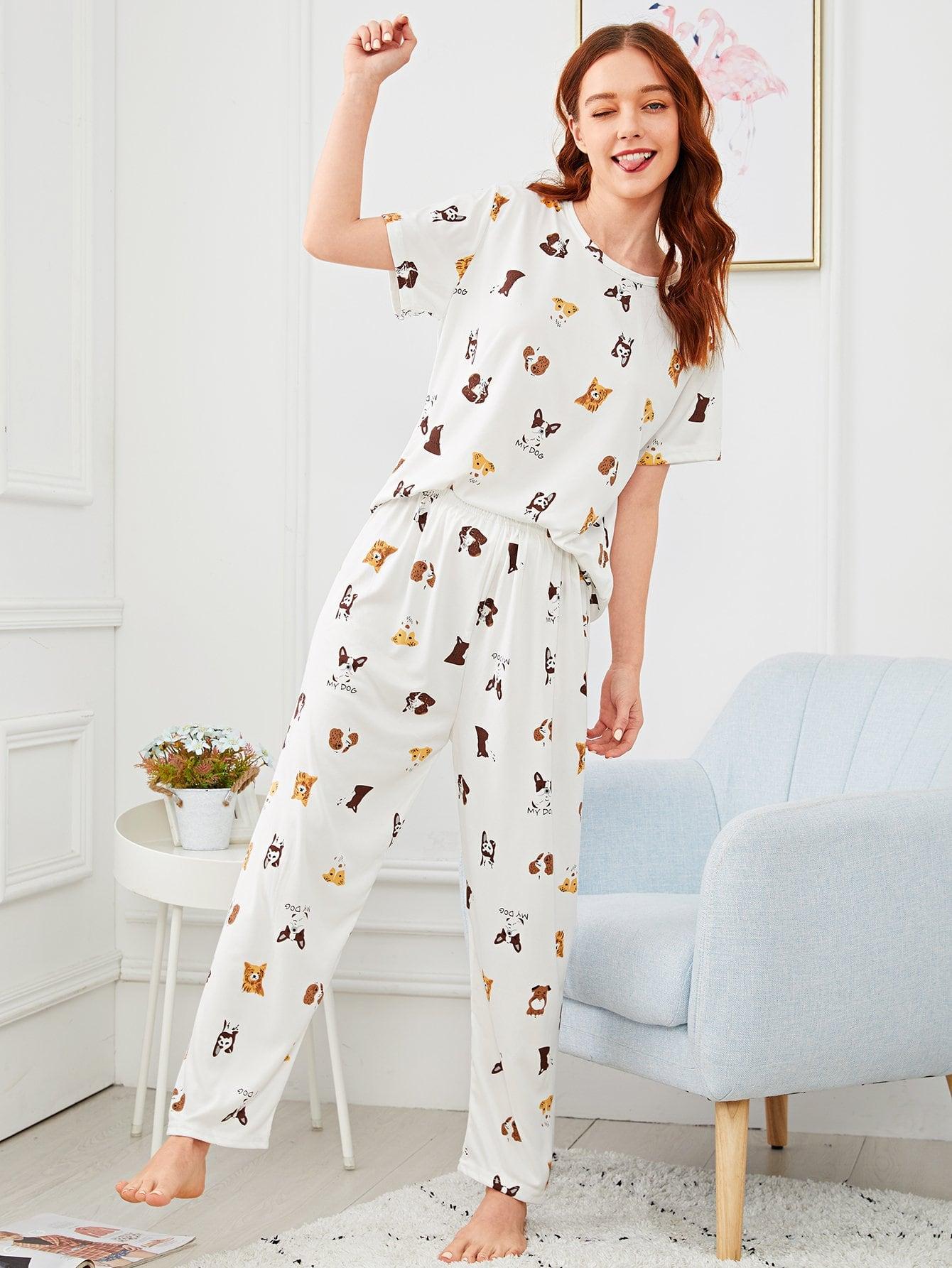 пижамные принты фото пролитая пол
