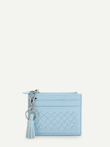 Tassel Trim Detail Card Pouch