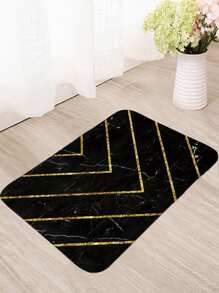 Chevron Stripe Pattern Floor Mat