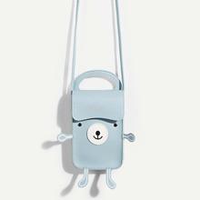 SHEIN | Animal Shaped PU Satchel Bag | Goxip