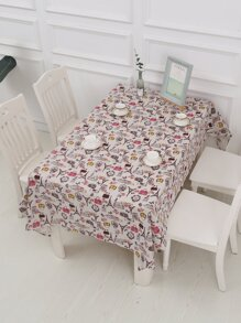 Tower Print Tablecloth