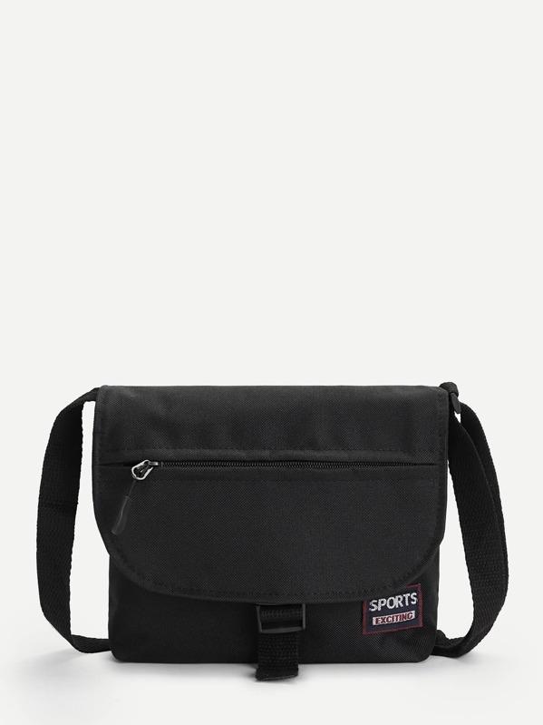 14c320892b Men Contrast Patch Crossbody Bag | SHEIN IN