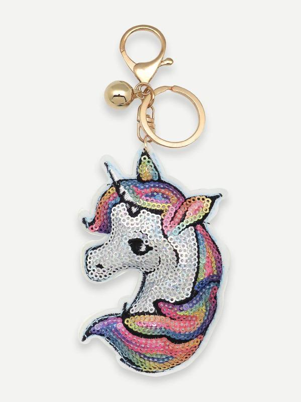 75823118bb Animal Shaped Sequin Key Chain | SHEIN