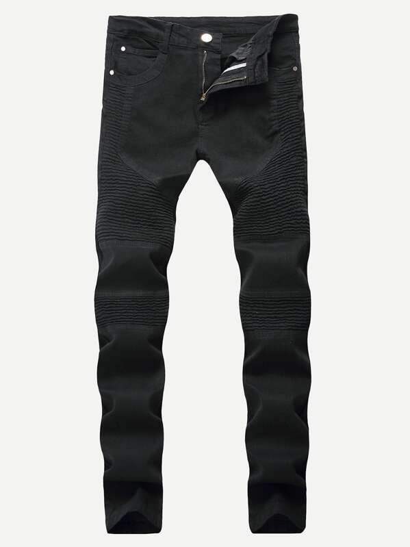 Men Solid Jeans by Sheinside