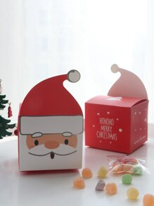 Christmas Santa Claus Candy Box 10pcs
