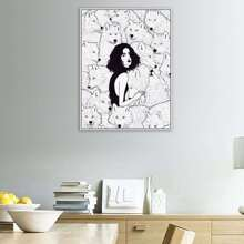 Beauty Print Cloth Wall Art