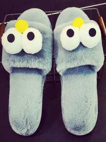 Cartoon Fluffy Slippers