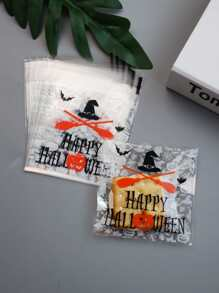 Halloween Print Packaging Bag 100pcs