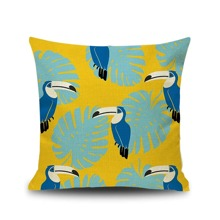 INOpets.com Anything for Pets Parents & Their Pets Bird Print Cushion Cover