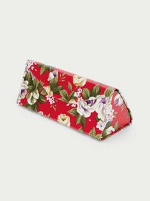 Floral Sunglasses Case