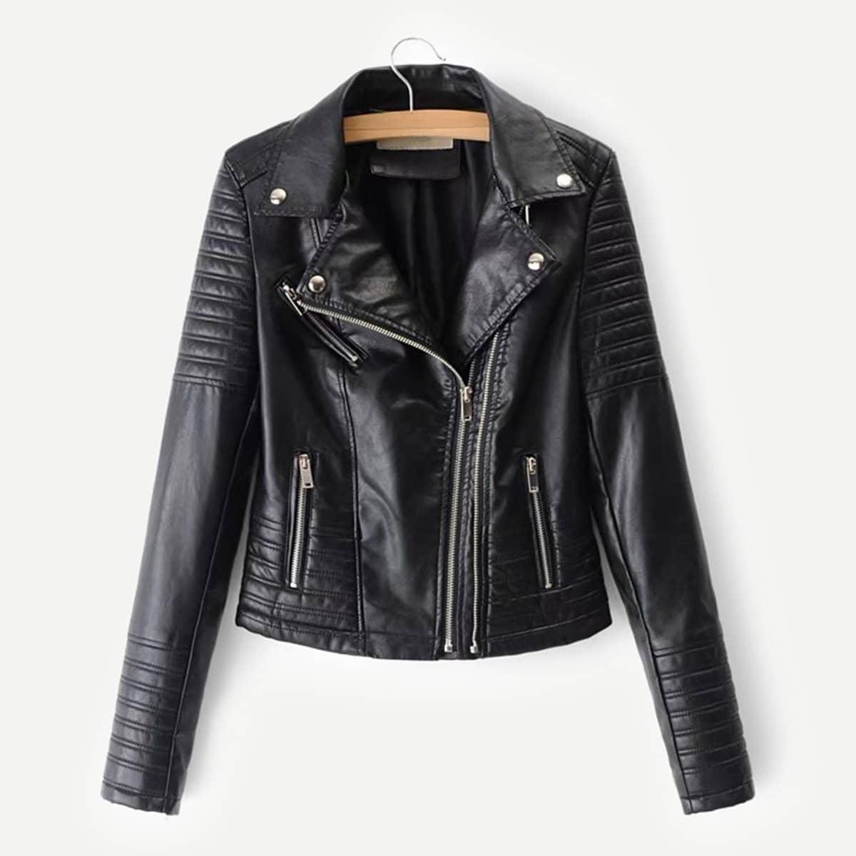 Katy Perry's Picks Faux Leather Biker Jacket