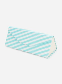 Striped Glasses Case