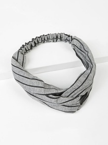 Elastic Striped Headband