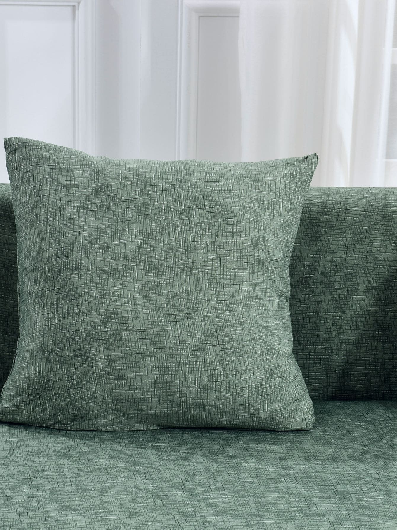 Solid Stretchy Sofa Cover Amp Cushion Cover 1pc Romwe