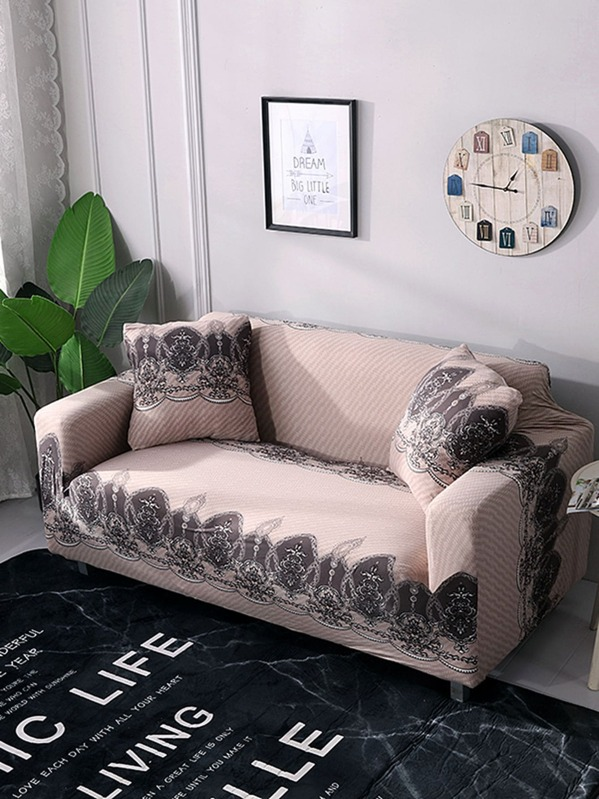 Outstanding Flower Print Stretchy Sofa Cover Cushion Cover 1Pc Uwap Interior Chair Design Uwaporg