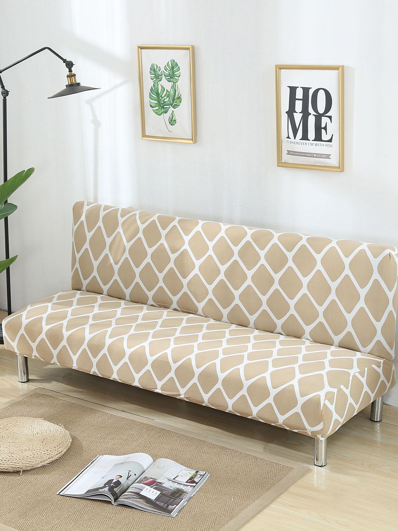 housse de canap lit extensible carreau french romwe. Black Bedroom Furniture Sets. Home Design Ideas