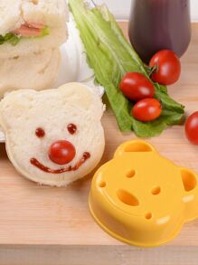 Bear Design Bread Mold 1pc