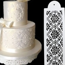 Floral Design Cake Decoration Board 1pc