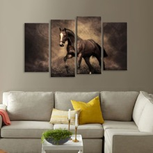 Horse Print Wall Art 4pcs