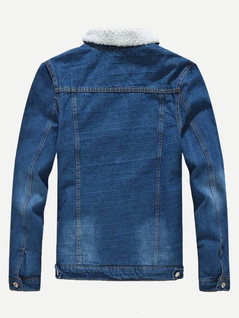 Las 10 chaquetas vaqueras de borreguito que te puedes