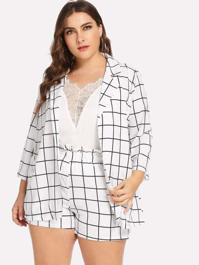 8878e8c225 Plus Size Co-Ords, Shop Plus Size Co-Ords Online | SHEIN UK