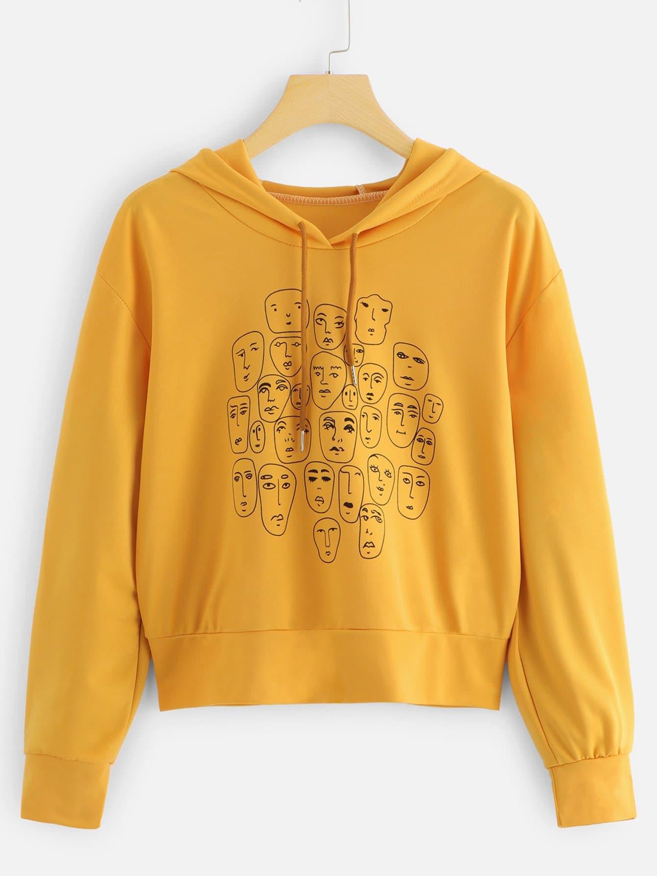 florida-yellow-sweatshirts-size-petite