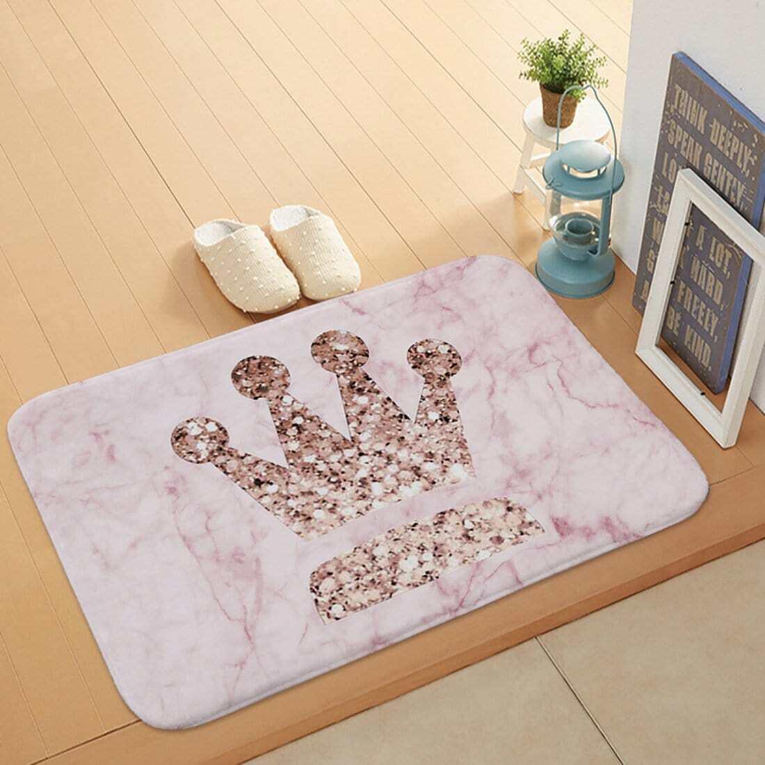 Fußmatte mit Krone Muster