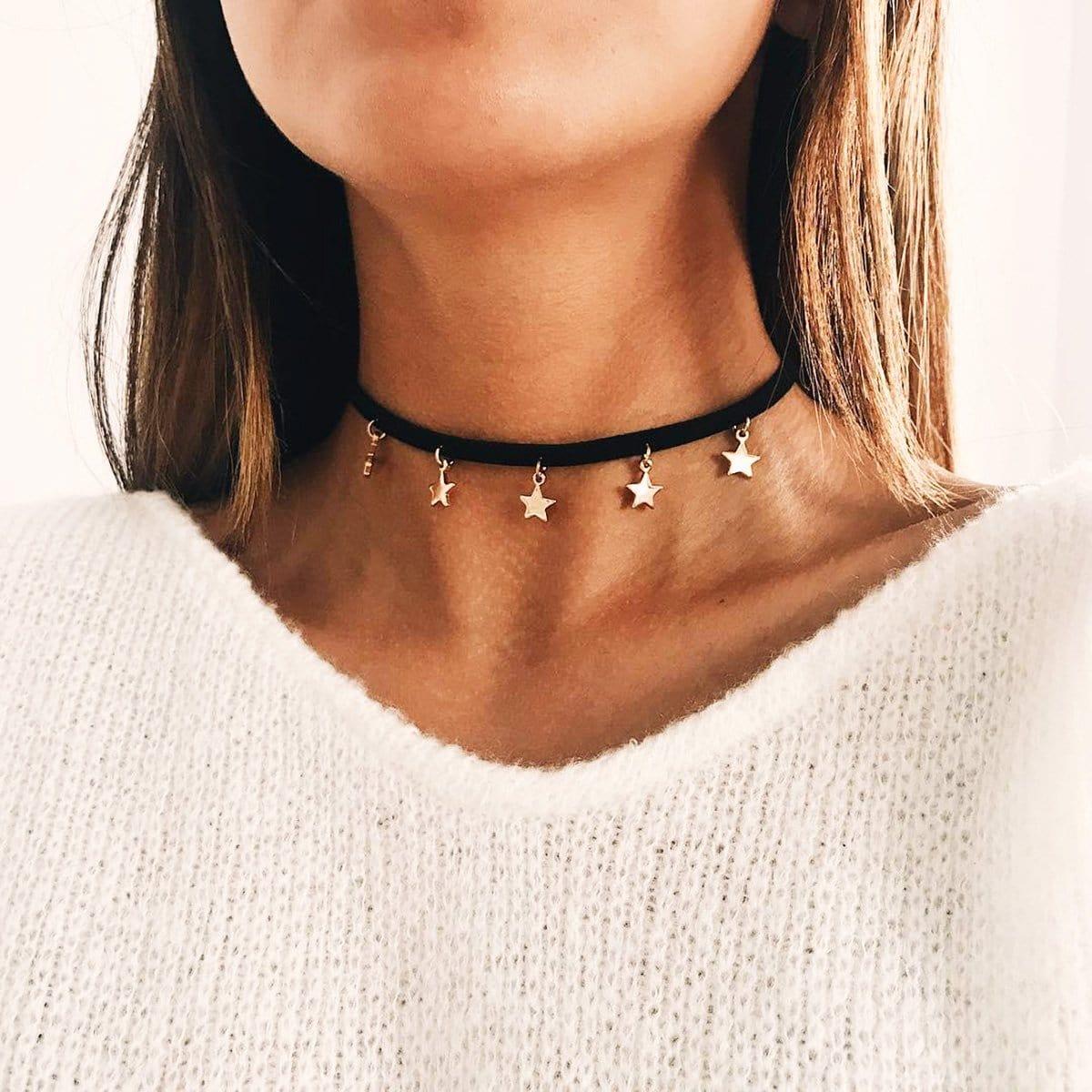 Ожерелье с подвеской звезды