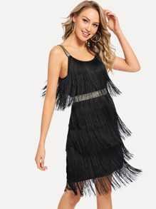 Fringe Cami Dress