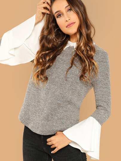174f3009 Women's Blouses, Shirts & Dressy Tops   SHEIN