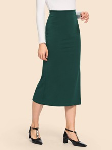 50s Solid Pencil Skirt